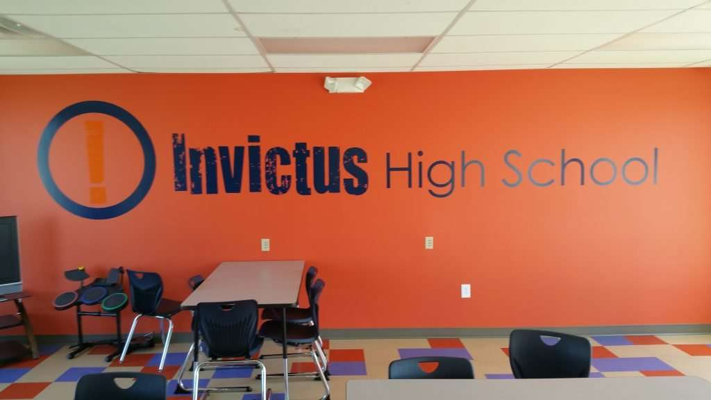 Invictus high school parma cafa branding