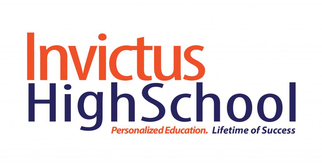 Invictus High School Logo Design